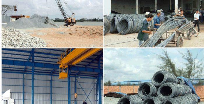 cung ứng vật tư xây dựng